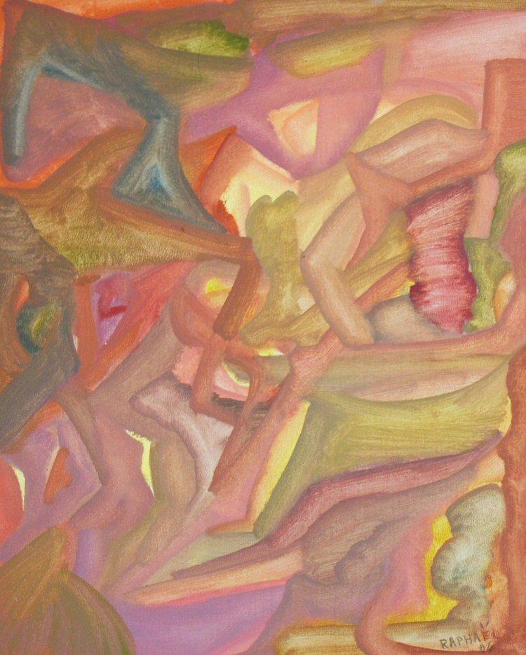 peintures huiles sur bois
