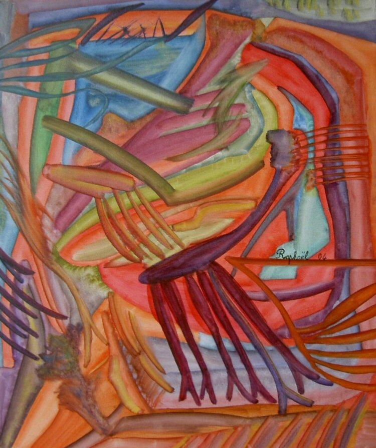 peintures huiles sur toile