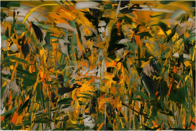 jaune vert