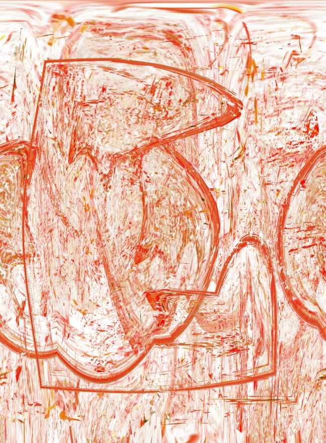 dessin en rouge