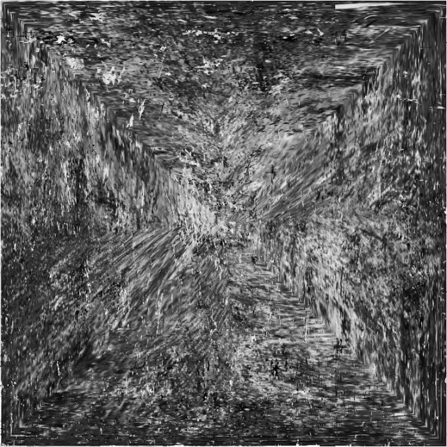 carré noir et gris