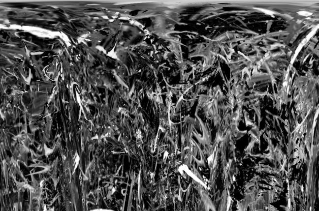 pluie noire et blanche
